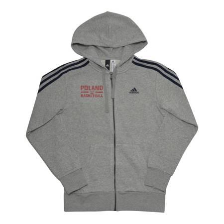 Bluza adidas Essentials 3-Stripes Full-Zip Poland Basketball (S98788-pol)