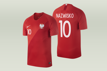 Koszulka Nike Polska WC 2018 A Breathe Stadium (893892-611)