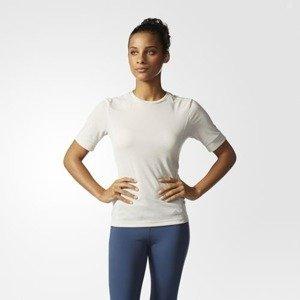 Koszulka adidas Supernova Crew Neck SS Tee W Talc AK2107